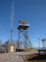 Buffalo Mountain (Pinnacle) Fire Tower