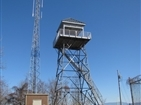 Buffalo Mountain (Pinnacle) Fire Tower | The fire tower was remodeled and opened to hikers in Oct 2011.