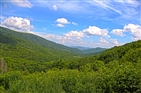 Overmountain Shelter | View from the shelter